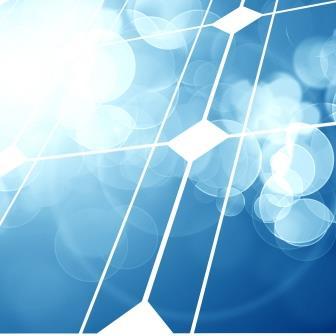 Dettaglio modulo fotovoltaico