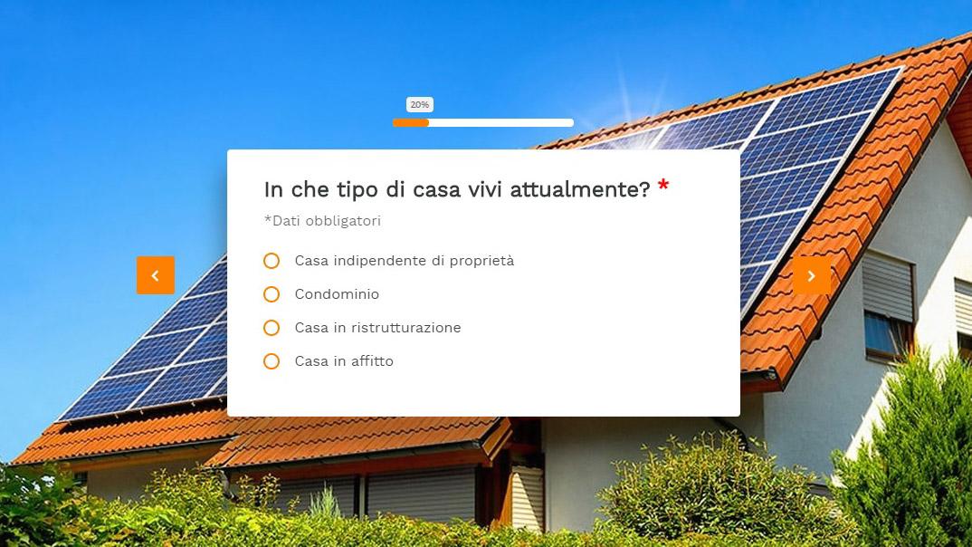 Scopri se l'energia solare fa per te
