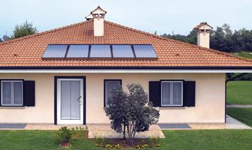 Sistema solare termico a circolazione forzata