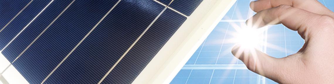 Sezione modulo fotovoltaico