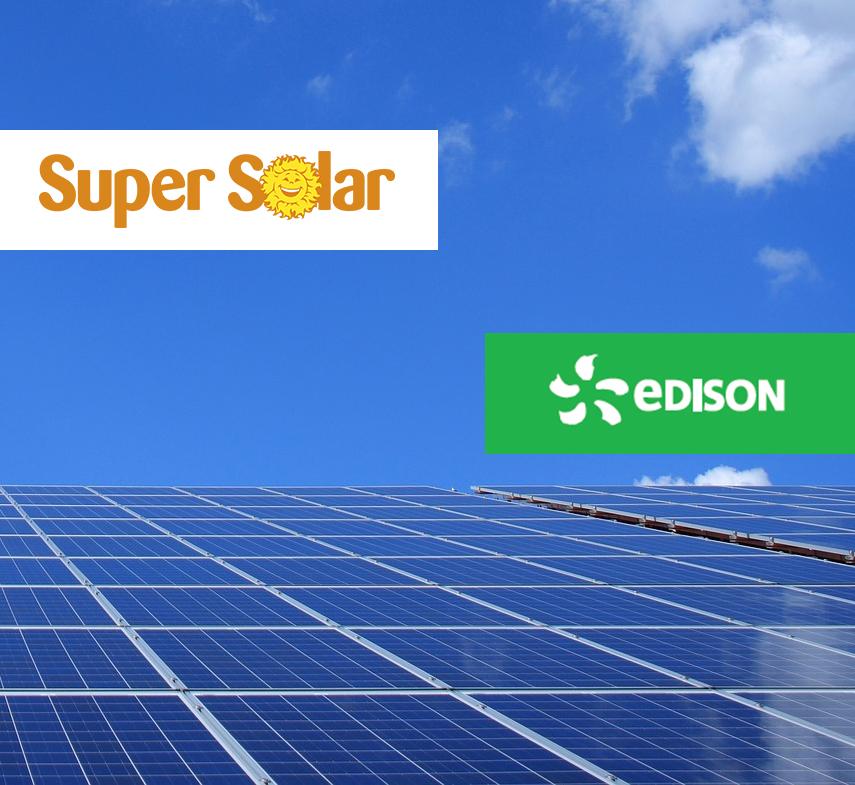 impianto fotovoltaico Edison Super Solar